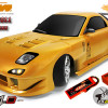 Auto RC Brushless RX7 E4D drift 1/10 4WD 2.4GHz Team Magic 503012 modellismo