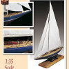 Amati Endeavou America's Cup UK Challenger 1:35 #1700/82 modellismo statico