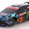 HPI Micro RS4 4WD 1:18 Ken Block Ford Fiesta 2013 2,4GHz #111224 km.0 modellismo