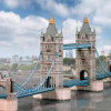 Papercraft Schreiber-Bogen Tower bridge 1:300 in carta 671 modellismo