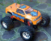Monster Truck Kyosho Twin Force elettrico 4WD 1:8 usato modellismo