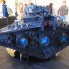 Incrociatore da Battaglia Classe Resurgent FINALIZER STAR WARS Lego a Model Expo Italy 2018