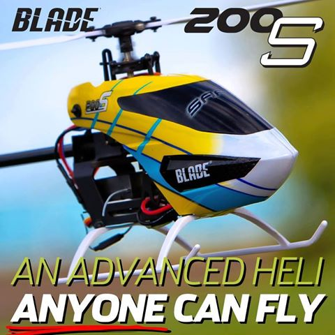 Blade 200 S Horizon Hobby modellismo